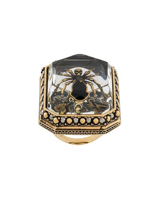 Alexander McQueen Beetle リング Metallic