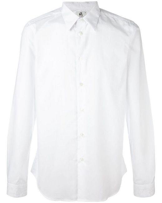 PS by Paul Smith - Black Classic Shirt for Men - Lyst
