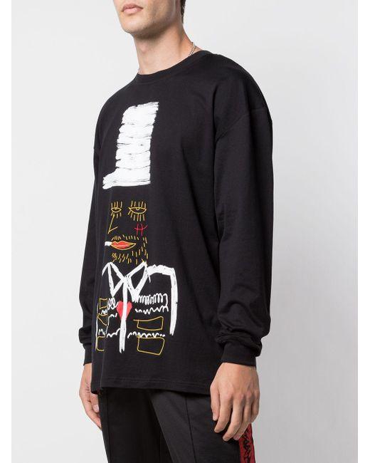 メンズ Haculla No Smokin' スウェットシャツ Black