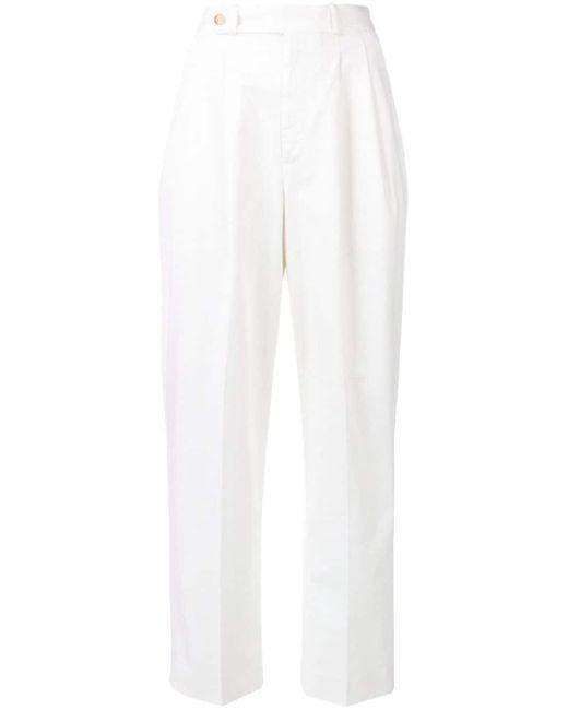 Polo Ralph Lauren ハイウエストパンツ White