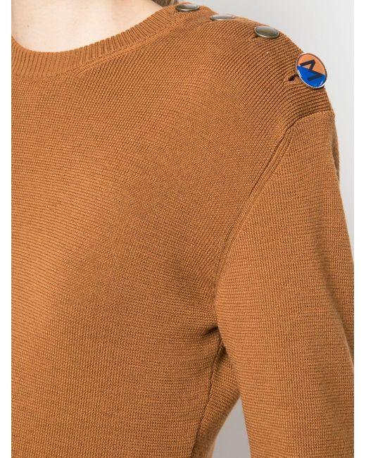 Monse アシンメトリー セーター Multicolor
