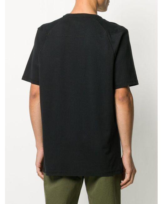 メンズ Raeburn コットン Tシャツ Black