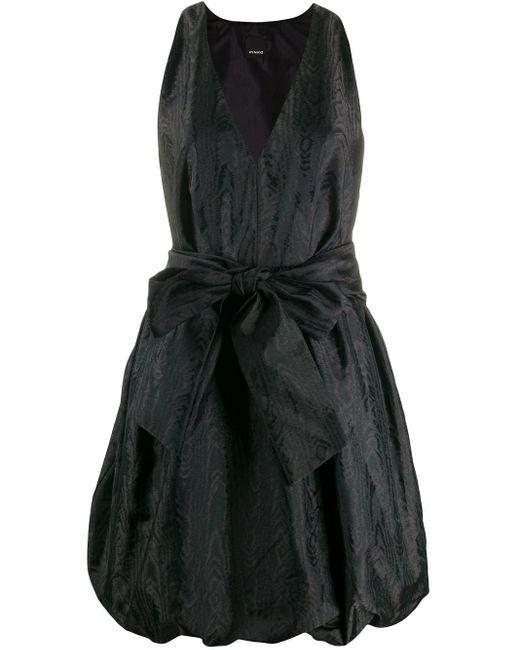 Pinko ベルテッド ドレス Black