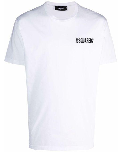 Футболка С Логотипом DSquared² для него, цвет: White