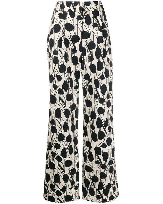 Pantalon ample Anna LaDoubleJ en coloris White