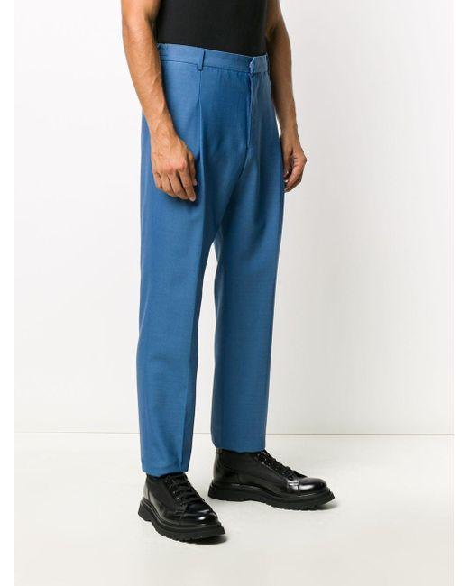 メンズ Givenchy テーラードパンツ Blue