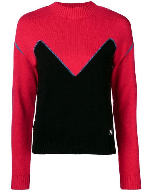 MSGM カラーブロックセーター Multicolor