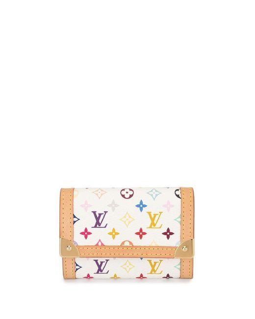 Кошелек Для Монет С Монограммой Pre-owned Louis Vuitton, цвет: White