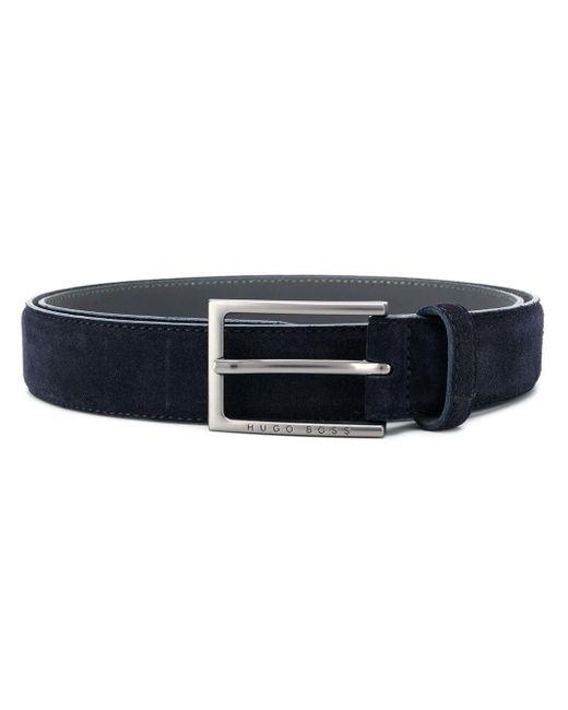 Cintura con fibbia di BOSS by Hugo Boss in Blue da Uomo