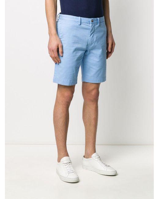 メンズ Polo Ralph Lauren スリム チノショーツ Blue