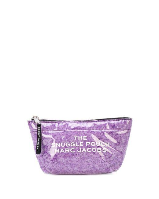 Marc Jacobs Snuggle ポーチ Purple