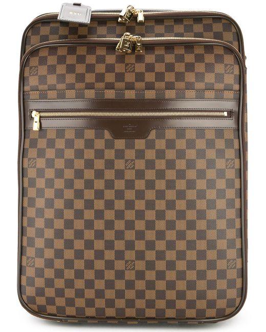 Louis Vuitton ぺガス55 ダミエ キャリーバッグ Multicolor