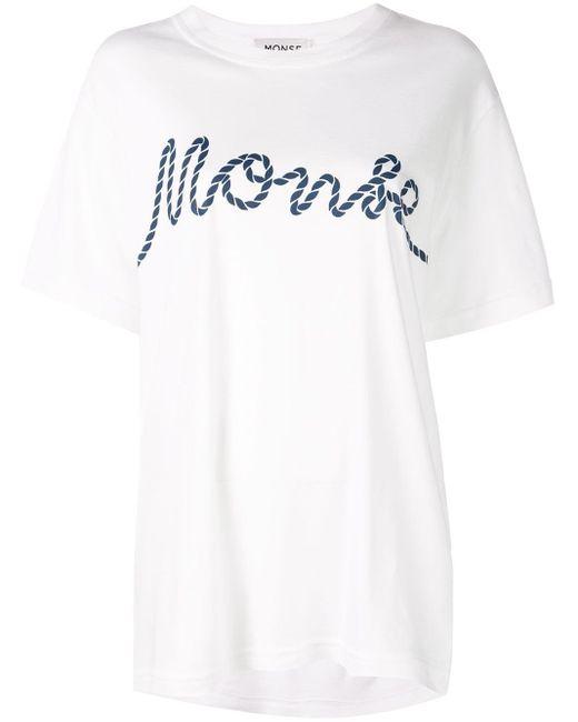 Monse ロゴ Tシャツ White
