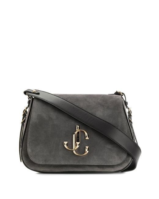 Jimmy Choo Gray Varenne/xb Shoulder Bag