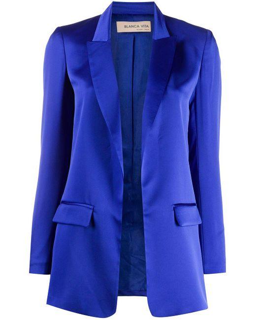 Blanca Vita Georgia ジャケット Blue
