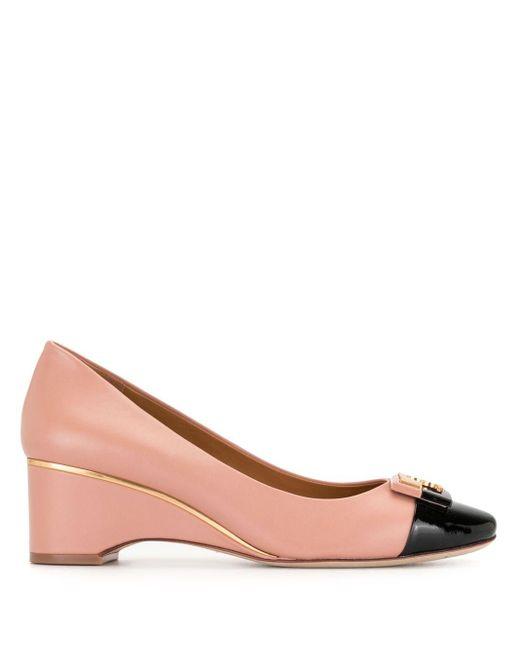 Туфли Gigi На Танкетке С Закругленным Носком Tory Burch, цвет: Pink