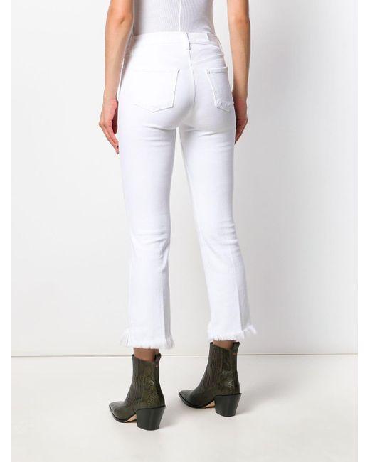 Джинсы Скинни J Brand, цвет: White