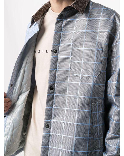 メンズ Daily Paper Kair パデッド ジャケット Blue