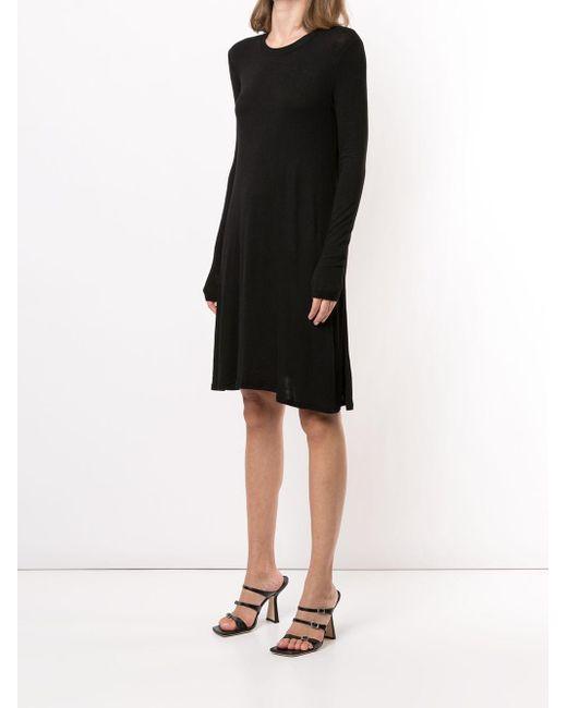 BCBGMAXAZRIA ファインニット ドレス Black