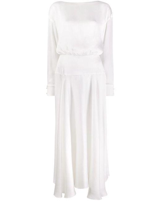 Galvan Majorelle ドレス White