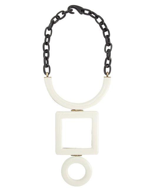 Osklen | Multicolor Geometric Necklace | Lyst