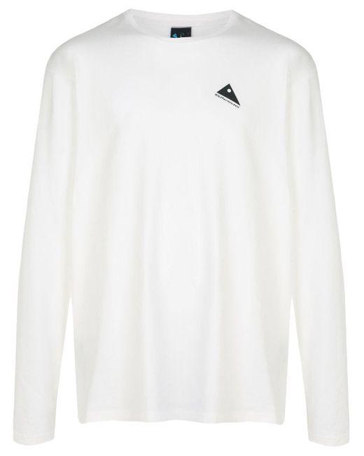 メンズ Klattermusen プリント Tシャツ White