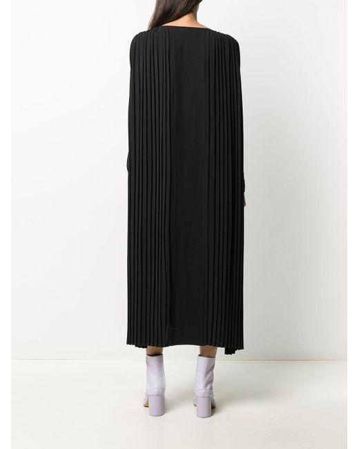 Henrik Vibskov プリーツ ドレス Black
