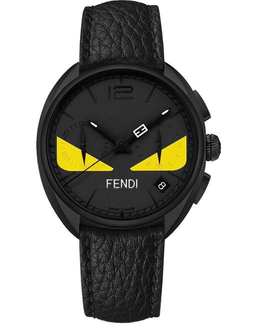 メンズ Fendi バッグバグズ 腕時計 Black