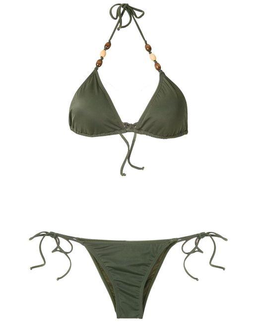 Brigitte Bardot トライアングル ビキニ Green