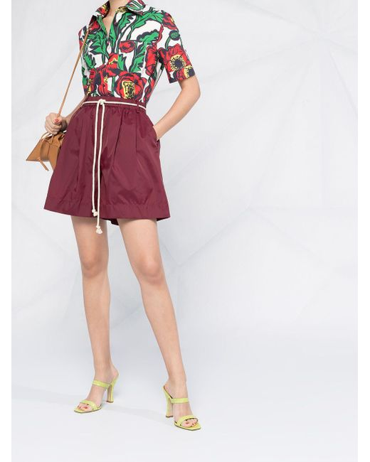 LaDoubleJ フローラルプリント シャツ Multicolor