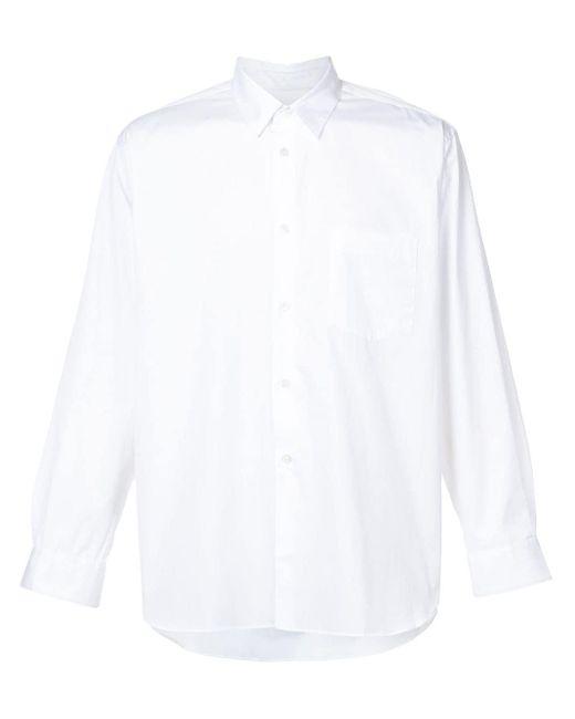 メンズ Comme des Garçons コットン シャツ White