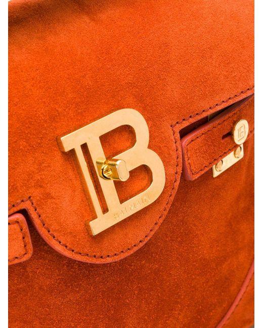 Balmain B-buzz 23 バッグ Orange