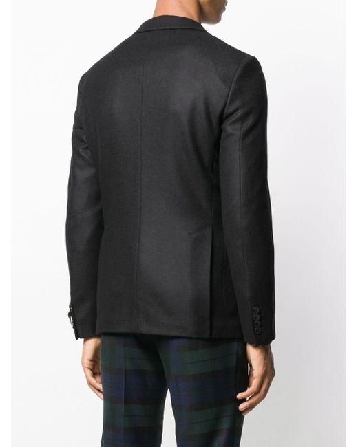 Пиджак Кроя Слим Tonello для него, цвет: Black