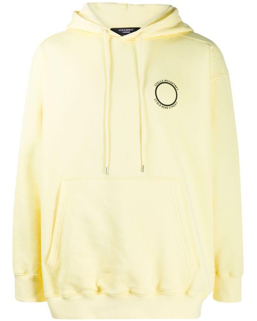 Stella McCartney ロゴ パーカー Yellow