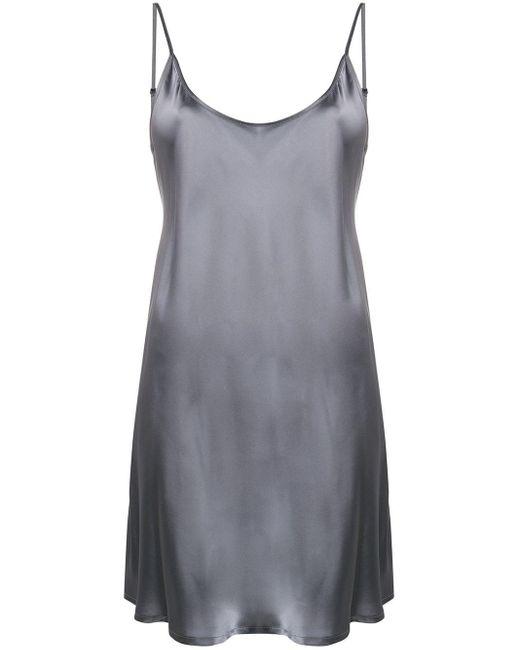 La Perla スリップドレス Metallic