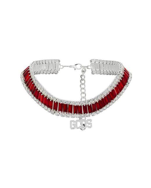 Gcds - Red Gemstone Choker - Lyst