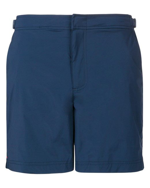 Short de bain à détail de boucle Orlebar Brown pour homme en coloris Blue
