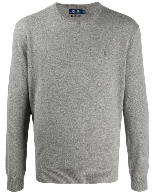メンズ Polo Ralph Lauren カシミア セーター Gray
