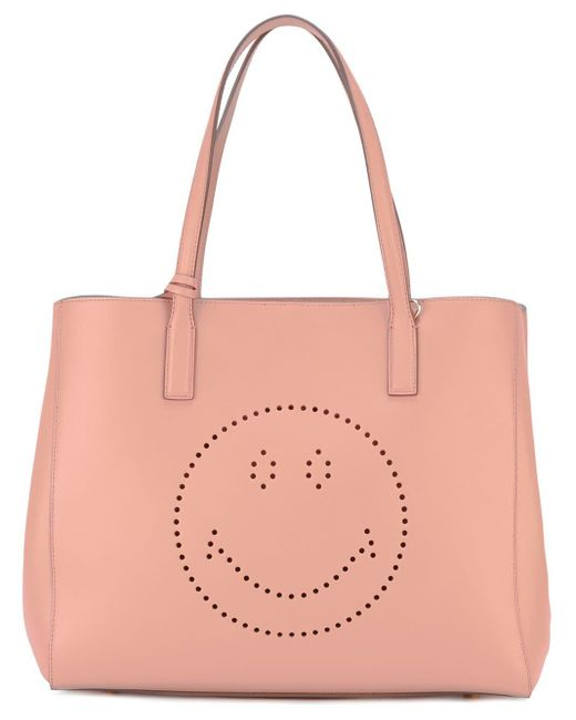 Anya Hindmarch Smiley Ebury トートバッグ Multicolor