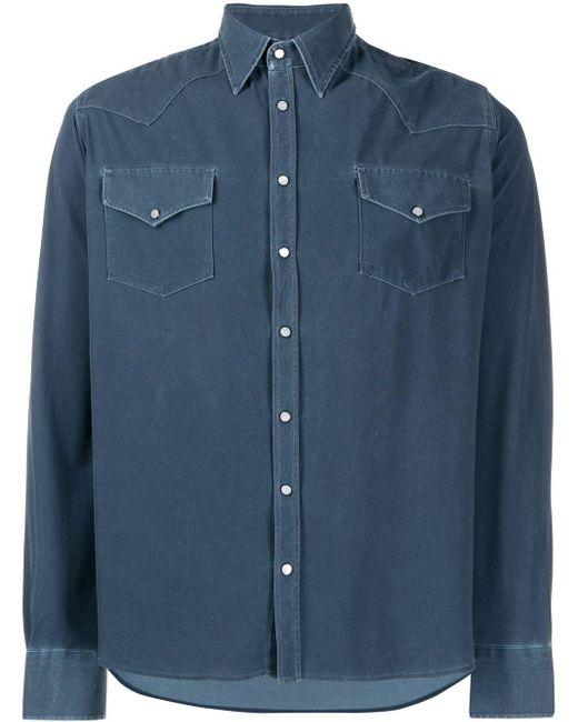 メンズ Rrd デニムシャツ Blue