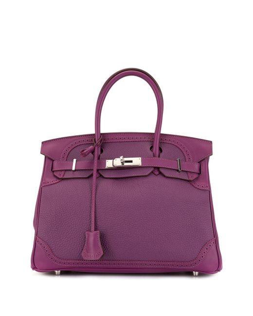 Сумка Birkin 30 Hermès, цвет: Purple