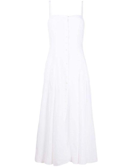 Gabriela Hearst リネン ドレス White