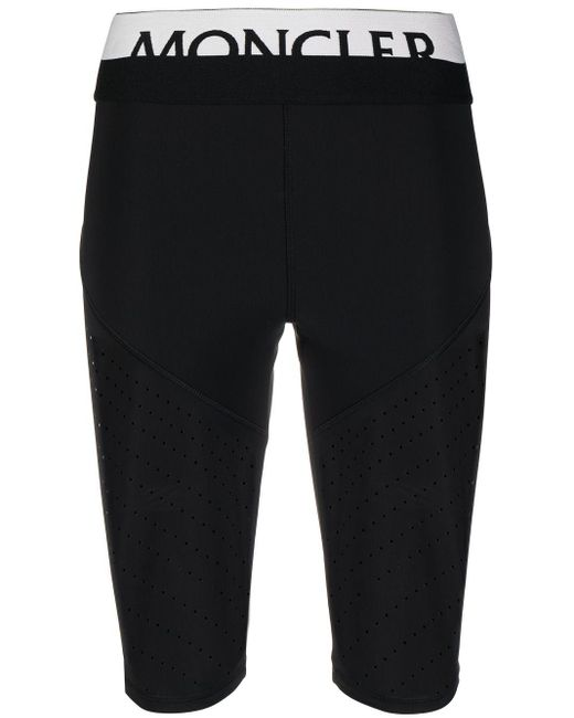 Shorts da ciclismo di Moncler in Black