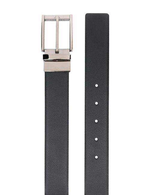 メンズ Emporio Armani バックル ベルト Black