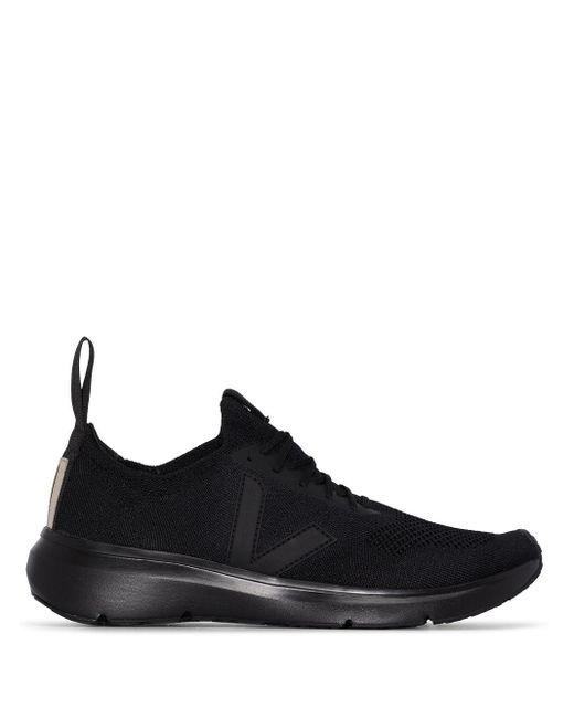 RICK OWENS VEJA Black Runner Style 2 Sneakers for men