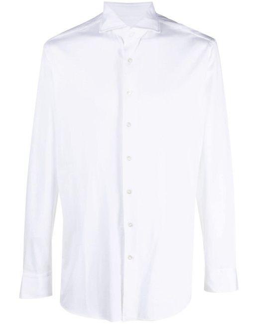 Рубашка На Пуговицах Lardini для него, цвет: White