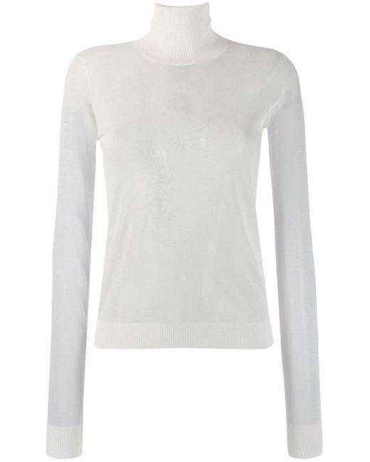 Maison Margiela タートルネック セーター White