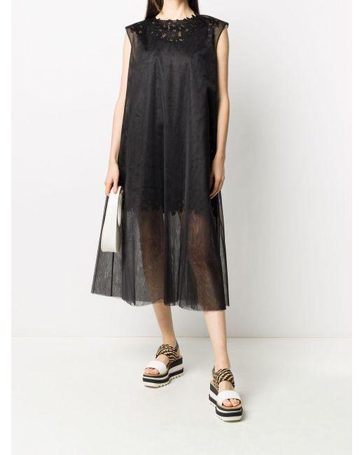 Paskal Mesh Butterfly ドレス Black