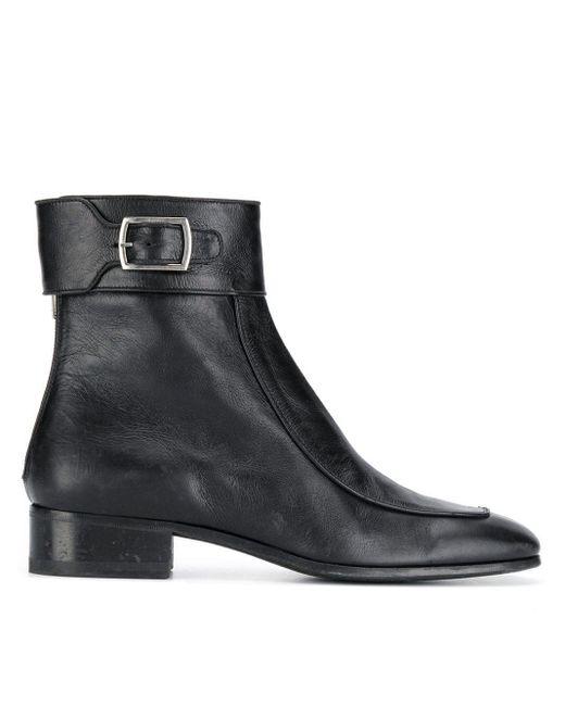 Ботинки 'miles' Saint Laurent для него, цвет: Black