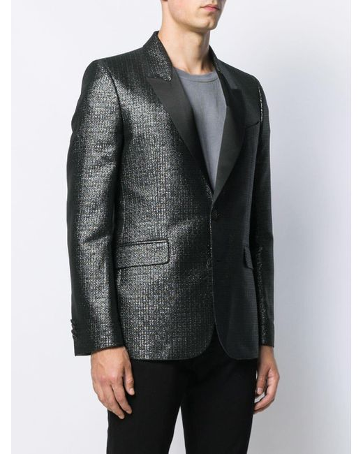 Givenchy Smoking Fitted Blazer in Black for Men Lyst